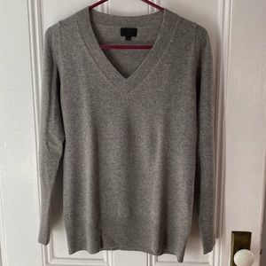 J. Crew Small Gray Cashmere Sweater